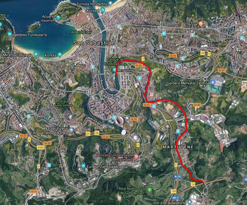 Mapa descenso